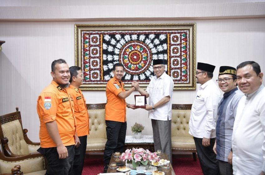 Basarnas Temui Plt Gubernur Aceh, Ini yang Dibicarakan