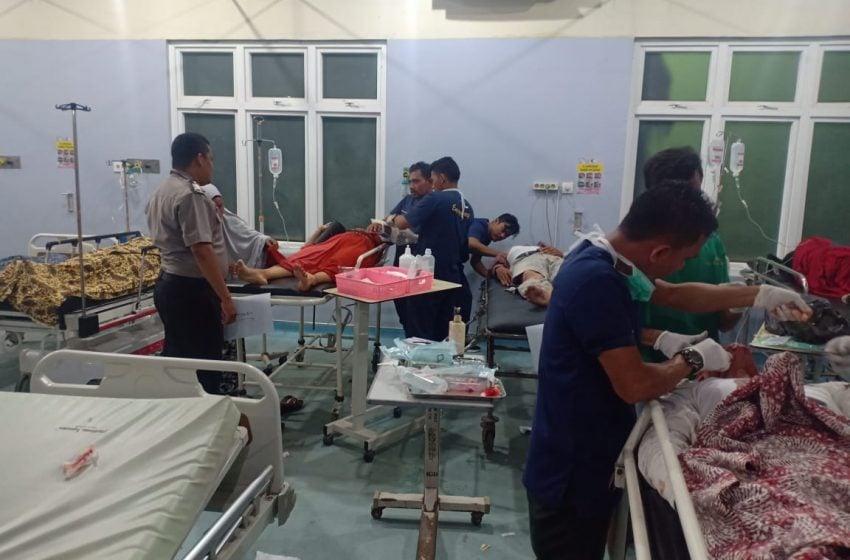 Tabrakan Maut Aceh Utara, 2 Tewas, 1 Dirujuk ke Banda Aceh