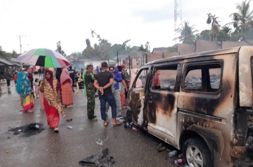 Korban Kebakaran di Paya Bakong Mengungsi