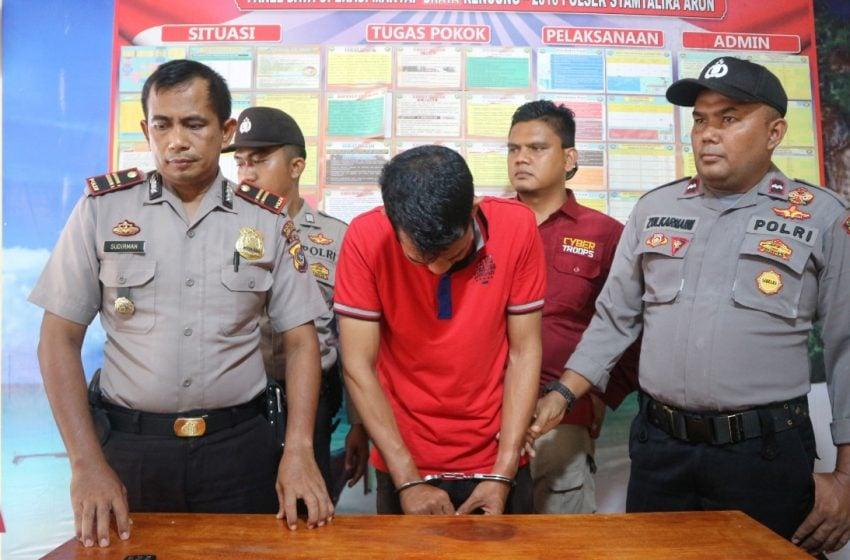 Pria Mengaku Intel dan BNN di Aceh Utara Terancam 9 Tahun Penjara