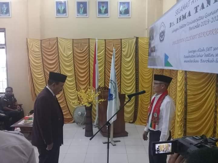 Isma Tantawi jadi Rektor UGL Aceh Tenggara
