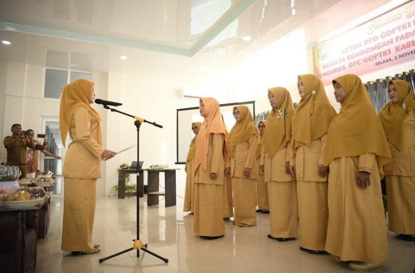 Pengurus GOPTKI Aceh Barat Daya Dilantik