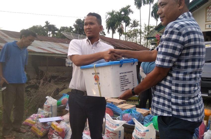 BPBD Salurkan Bantuan untuk Korban Banjir Aceh Tenggara