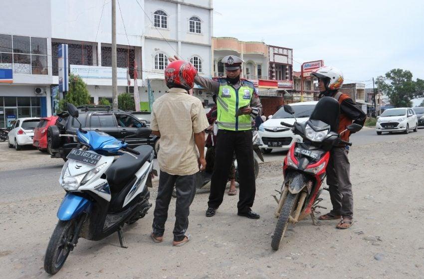 680 Pelanggar Lalulintas Aceh Utara Sidang di Tempat