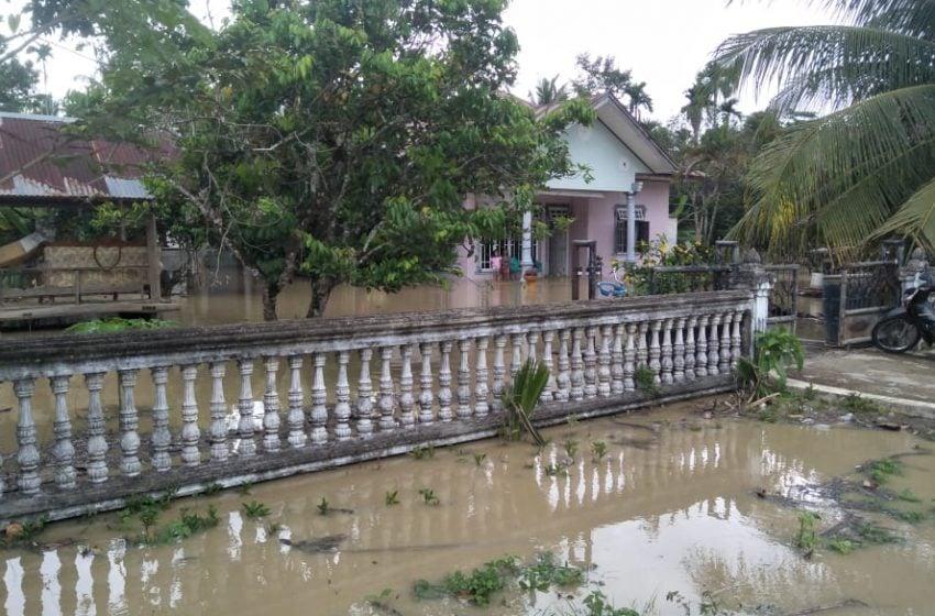 2 Kecamatan Terendam Banjir di Aceh Utara