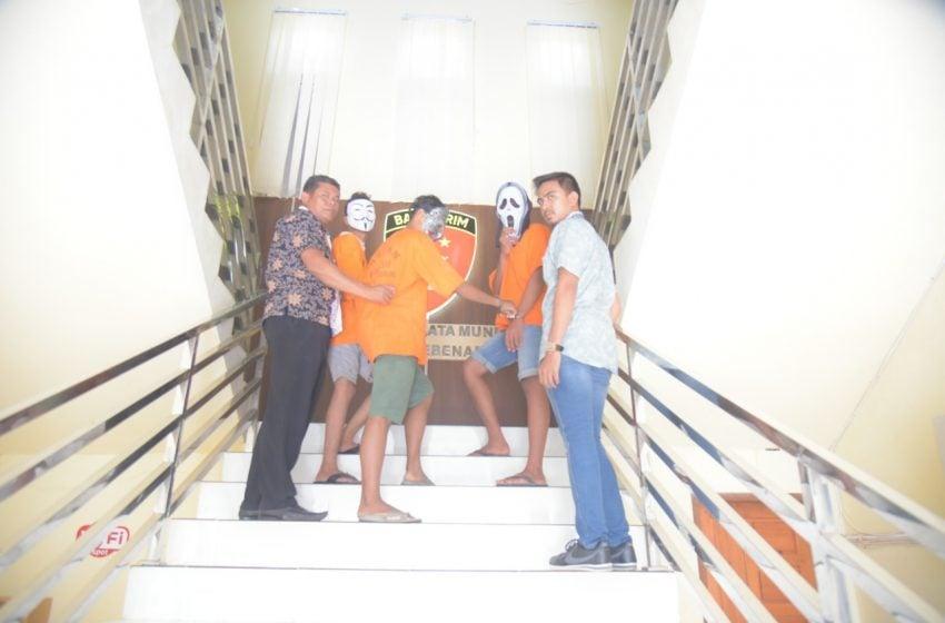 3 Pelajar Lhokseumawe jadi Begal Ditangkap