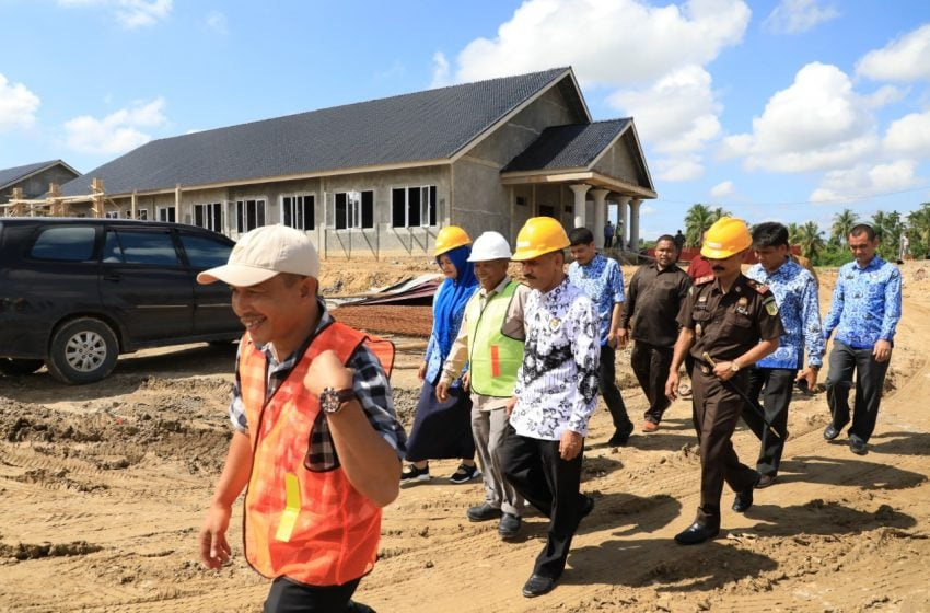 Cek Mad Tinjau Progres Pembangunan RS Pratama di Lhoksukon