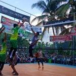 Bank Indonesia Lhokseumawe Juara Turnamen Bola Voli Dandim Cup 2019