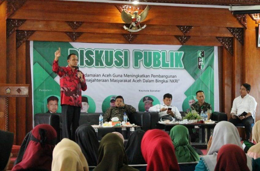 HMI Gelar Diskusi Publik Bahas Refleksi Pembangunan dan Sejahtera Pasca MoU