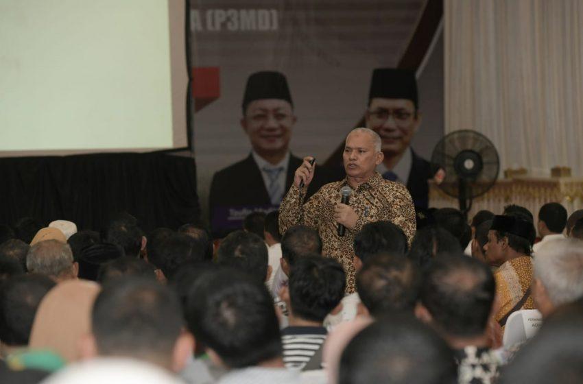 Pesan Sekda Aceh untuk Peserta Rakor P3MD