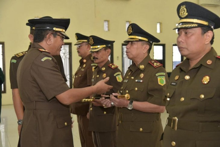 Kepala Kejaksaan Tinggi Aceh Lantik Aspidsus dan 4 Kajari