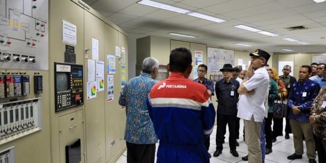 Kunjungi PHE-NSB, Plt Gubernur Aceh Ajak Kelola Blok B Secara Profesional
