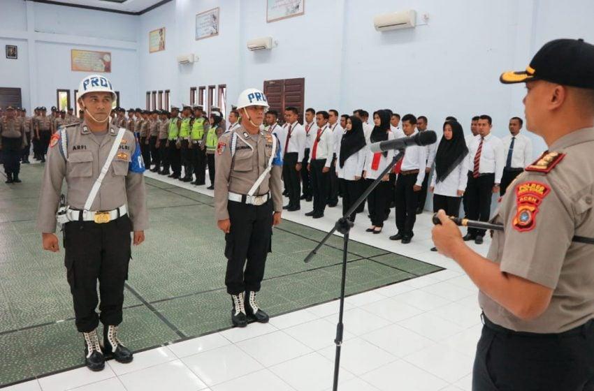 2 Polisi Dipecat karena Narkoba dan Disersi di Aceh Utara