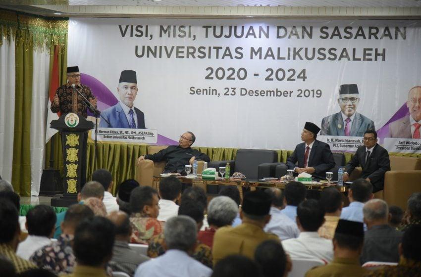 Lokakarya di Unimal, Plt Gubernur Aceh Ajak Kampus Berkolaborasi Lahirkan SDM Unggul