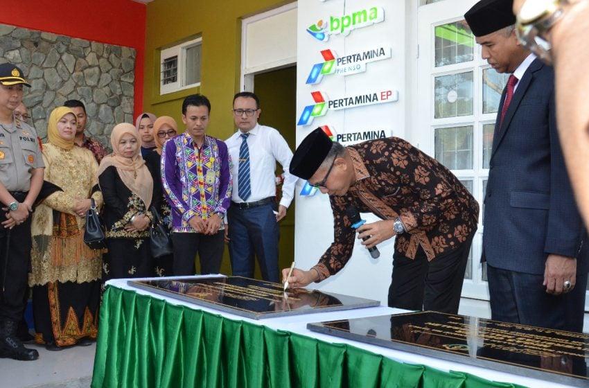 Plt. Gubernur Aceh Resmikan Migas Center Unimal