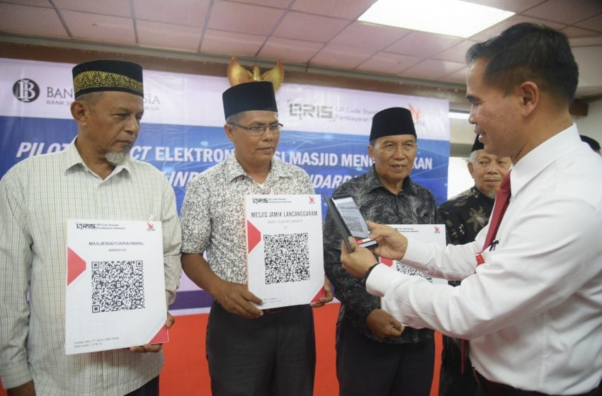 Permudah Sedekah untuk Masjid, Bank Indonesia Buat Aplikasi QRIS
