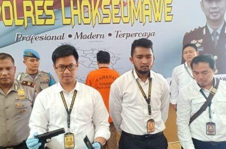 Ancam Camat, Pria Bersenjata Api Ditangkap Polisi