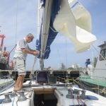 FOTO : Pemilik Kapal Yacht di Pelabuhan Krueng Geukueh Ternyata Pengusaha di Inggris