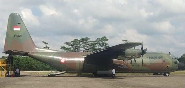Setelah Diperbaiki, Pesawat Hercules TNI Dinyatakan Laik Terbang