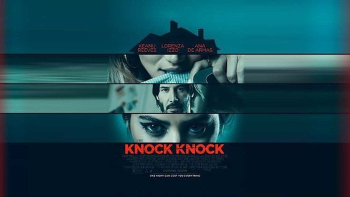 Film Knock Knock, Ketika Dua Gadis Menjebak Seorang Pria