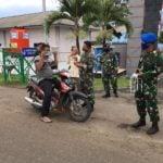 Ini Foto TNI AL Lhokseumawe Bagikan Masker Gratis