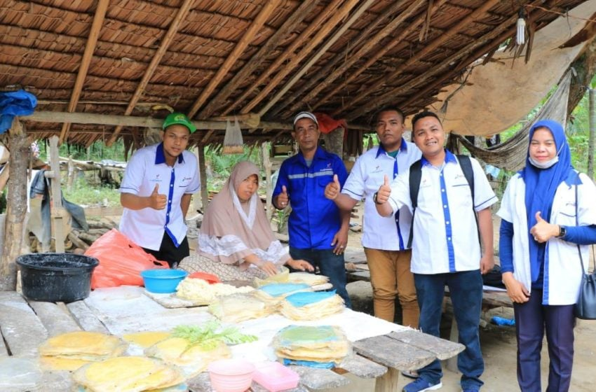 Mitra Binaan CSR Perta Arun Gas tetap produktif Ditegah Pandemi Corona