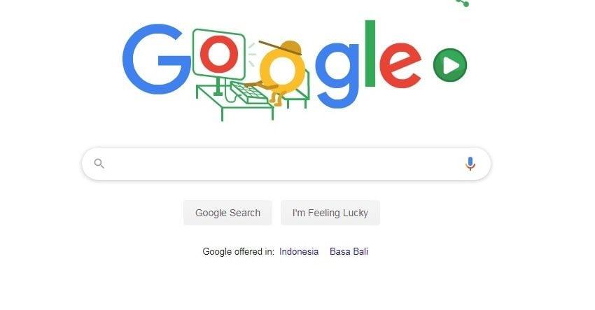 Google Doodle Games, Agar Anda Betah Dirumah