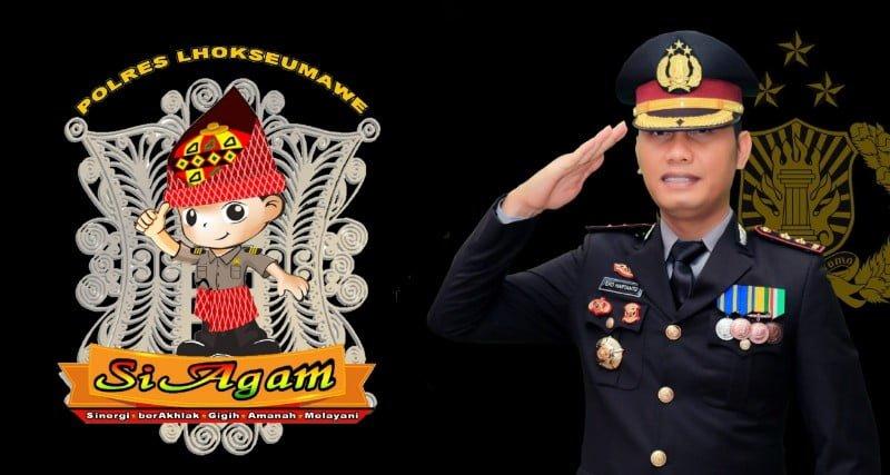 SIAGAM Dan Perjalanan Karir Kapolres Lhokseumawe