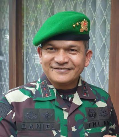 Kisah Daniel Chardin, Anak Prajurit TNI PM Berpangkat Peltu Kini Jadi Jenderal