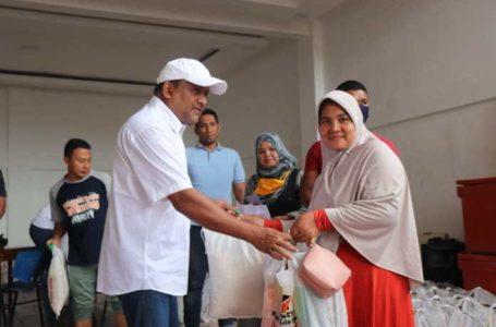 Kegigihan Direktur Takabeya Salurkan Bantuan Ramadan Untuk Warga