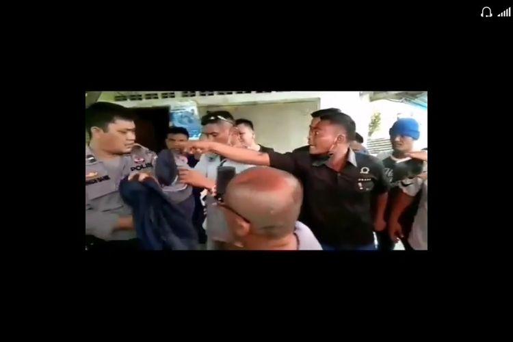 Viral, Video Pelaku Pungli Bentak dan Ancam Polisi