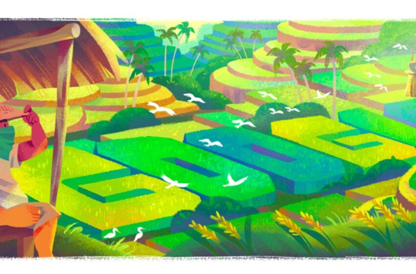 Warisan Budaya Subak dan Google Doodle Hari Ini