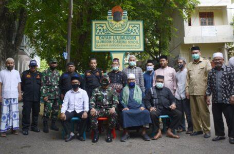 Pertama Bertugas, Danrem 011/Lilawangsa Kolonel Inf Baskoro Sowan Ke Ulama