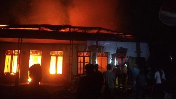 Tiga Warga Tewas Akibat Kebakaran Ruko Di Aceh