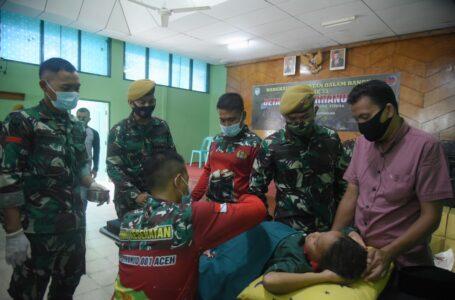Peringati HUT ke 33, Den Arhanud-001 Lakukan Khitanan Massal Gratis