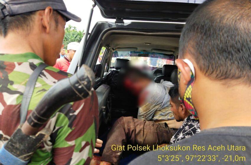 Usai Mencuri Kambing, Pria Di Aceh Utara Tabrak Kambing Hingga Kritis