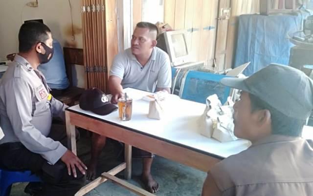 Polisi Aceh Sosialisasi Protokol Kesehatan Kepada Warga
