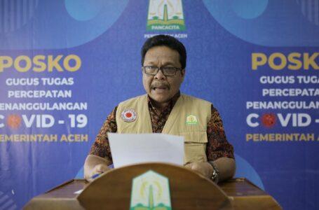 Pasien Covid-19 Di Aceh Bertambah 12 Orang