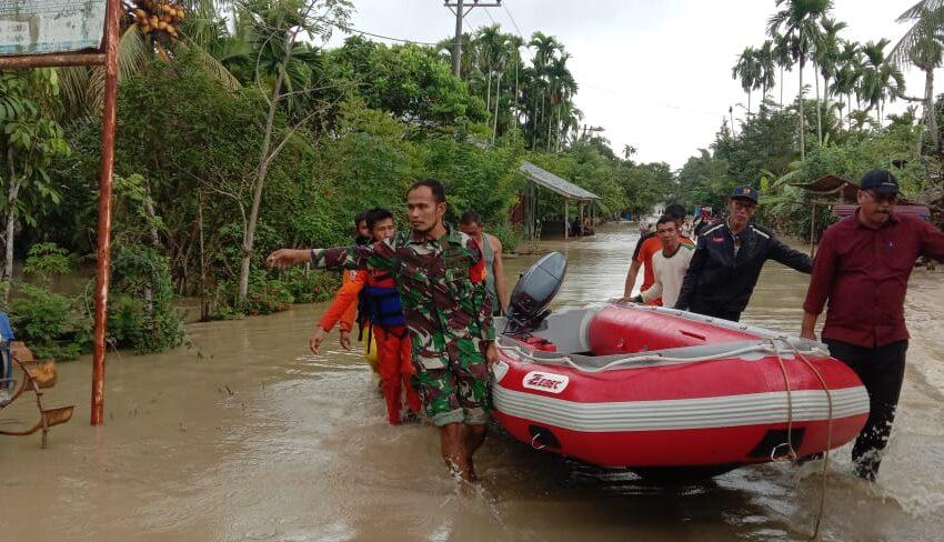 Banjir Kembali Genangi Aceh Utara