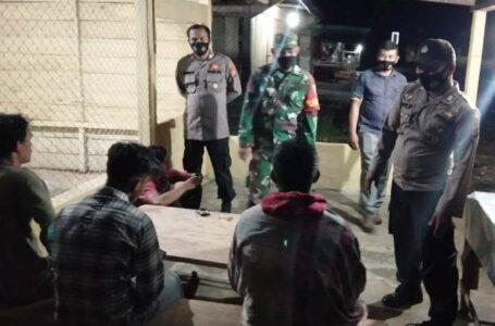 Petugas Gabungan Di Aceh Timur Patroli Protokol Kesehatan