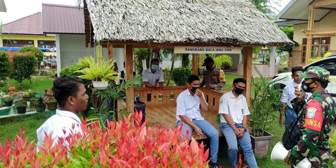 Polisi Aceh Awasi Penerapan Protokol Kesehatan Di Kalangan Pelajar