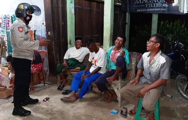 Polisi Aceh Patroli Penerapan Protokol Kesehatan Di Malam Hari