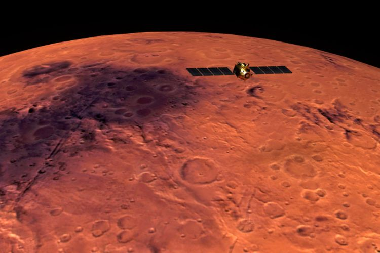 Ilmuan Temukan Jejak Air Di Mars, Ini Bentuknya